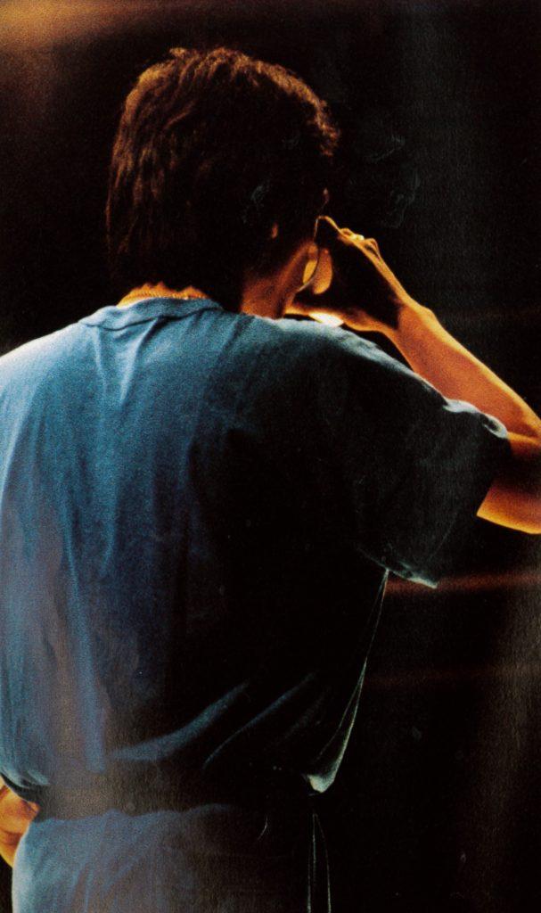 松山千春の若い頃の画像